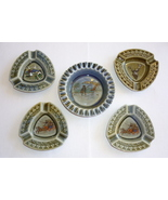 Wade Irish Porcelain Ashtrays Vintage Armagh Fishing Deer Stagecoach Ire... - $16.95