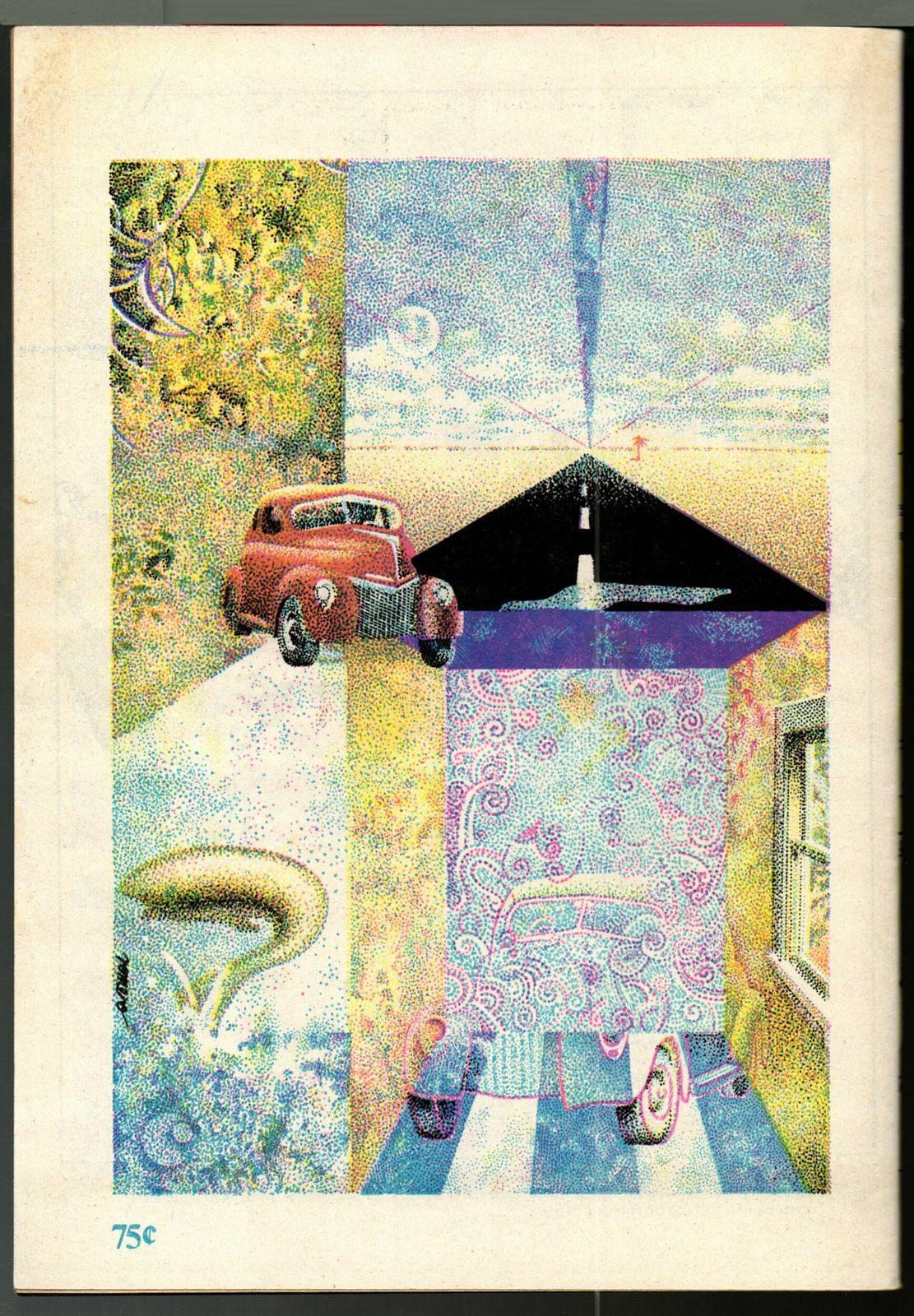 Realm #6, - 1975, RARE underground comix, 3rd printing