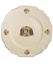 Commemorative Queen Elizabeth II Coronation Plate, 1953 - £35.58 GBP