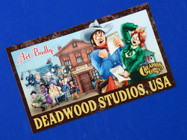 "Deadwood Studios, USA Travel Sticker (3""x5"") - art by Phil Foglio - $1.00"