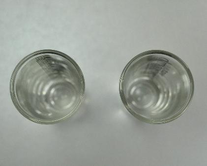 Two Sauza Commemorativo Tequila Tall Shooter Shot Glasses