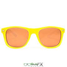 GloFX Ultimate Diffraction Glasses– Yellow Auburn Enhanced Stainless Steel Hings - $17.98