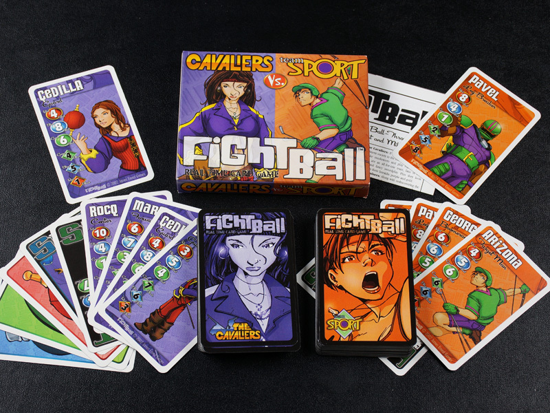 Fightball: Real Time Card Game - Cavaliers vs. Team Sport