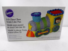Wilton 3-D Choo Choo Train Aluminum Cake Pan 2105-2861 with Box 2010 - $30.33