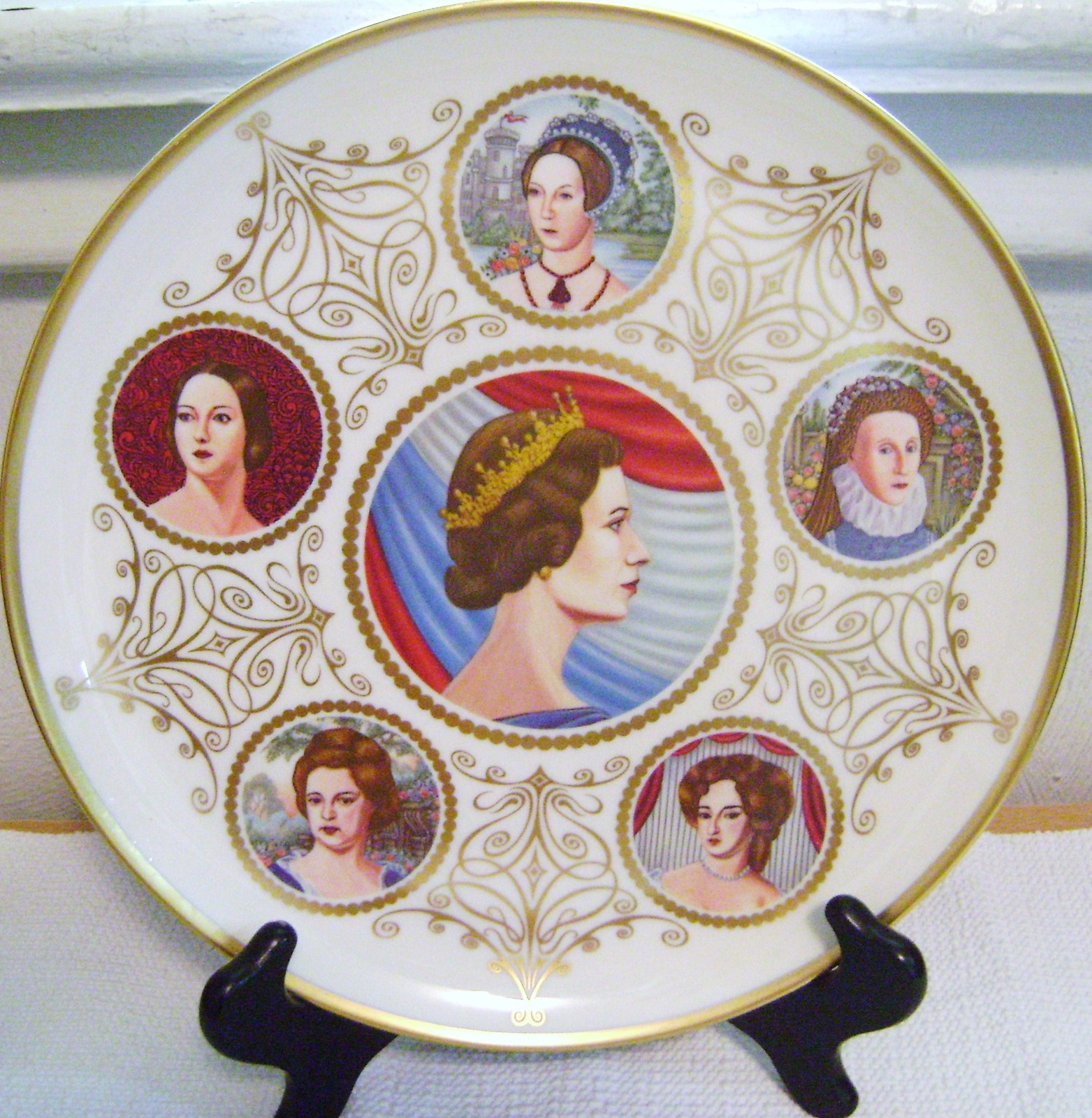 Primary image for Six Queens of England Pickard China Plate Limited Edition