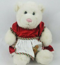 "Build a Bear 15"" Plush Mrs Claus Dress Gingerbread Man Christmas Holiday... - $30.23"