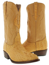 Mens Buttercup Real Crocodile Hornback Leather Cowboy Boots Western Rode... - $256.49