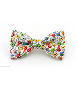Bass Hooks Clip On Cotton Bow Tie Adult / Boys Sizes - £9.62 GBP