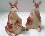 Vintage Kangaroo Salt & Pepper Shakers from Japan