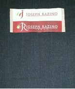 Super 130'S Italian marino Wool Suit Fabric 6 Yards MSRP $1395 Blue Gray... - $88.00