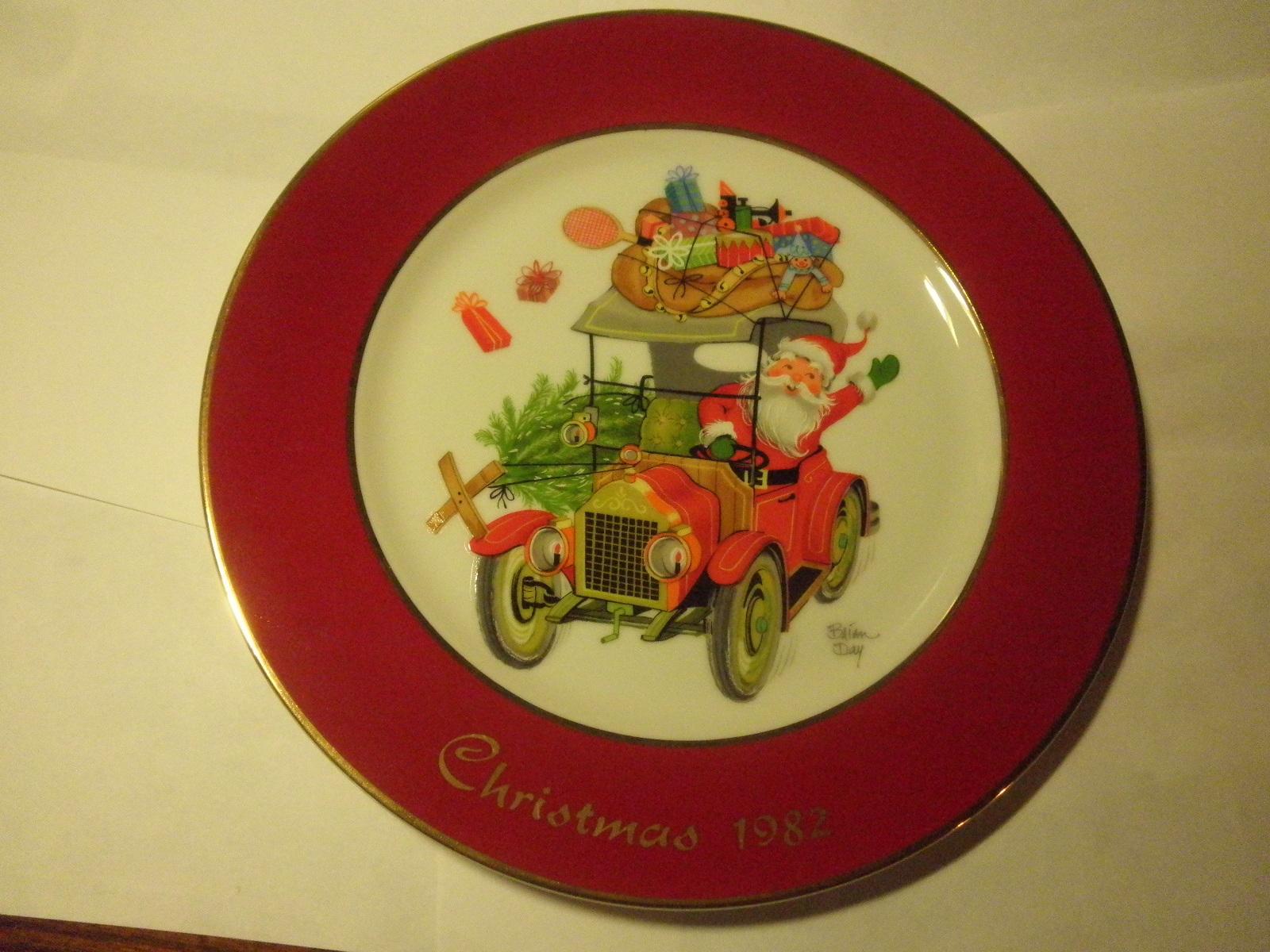 89+ 1982 Christmas Plate - 1982 Snoopy Christmas Plate Schmid ...