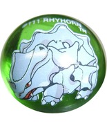 POKEMON MARBLE RHYHORN #111 Colored GLASS MARBLE - $8.98