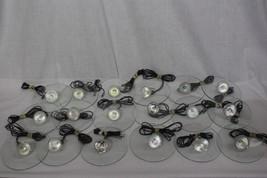 Lot of 17 Hanging Pendant LED Floading Fixtures; Artemide Icaro Carlo Fo... - $249.00