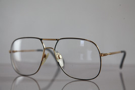 Vintage SILHOUETTE Eyewear, Gold Frame,  RX-Able Lenses Prescription. Au... - $51.23