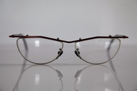 SELECT Eyewear, Metallic Red Frame, RX-Able Prescription Lens. Hand Made... - $84.15