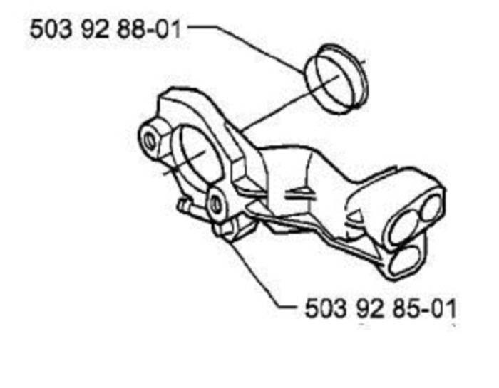 Carburetor Carb Flange Husqvarna 357 359 Xp And 50 Similar Items