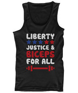 LIBERTY JUSTICE AND BICEPS FOR ALL Men's Tank Tops - $14.99+