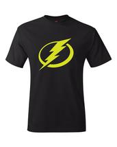"Tampa Bay Lightning Black & Neon/Fluorescent ""Volt"" Yellow Logo Tee - $19.99+"