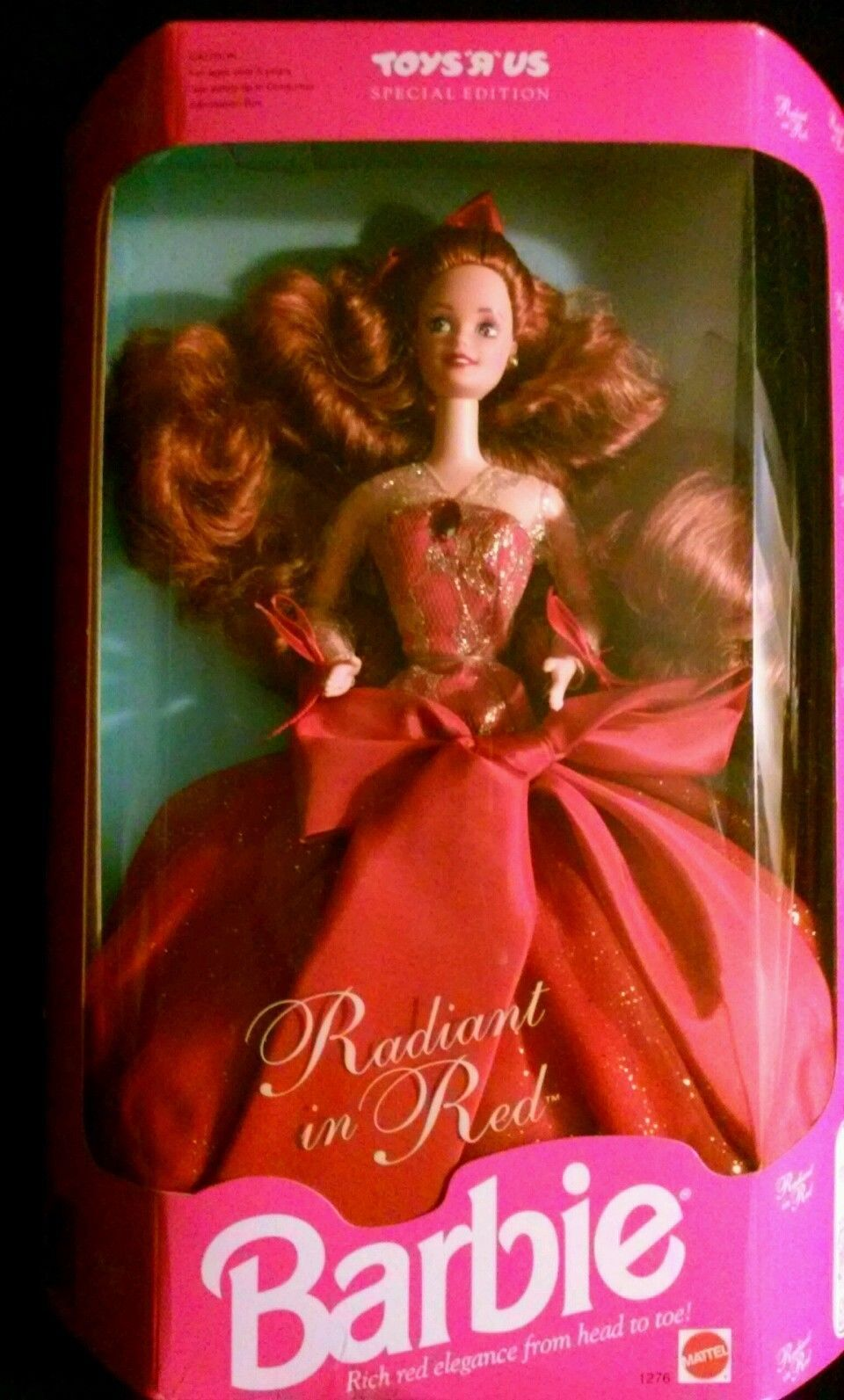 Valentine S Day Toys R Us : Radiant in red barbie toys r us exclusive auburn hair