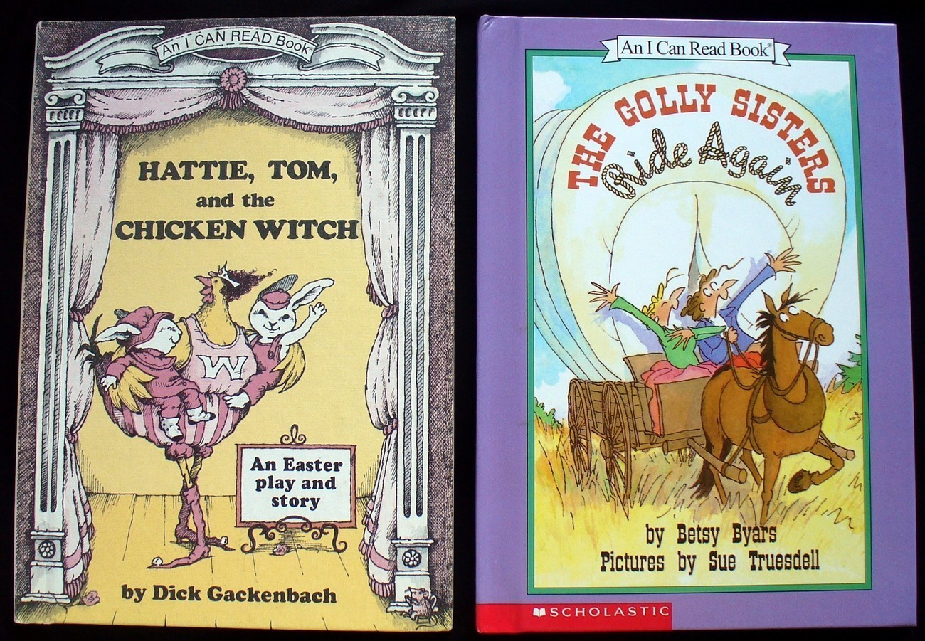 2 An I Can Read The Golly Sisters, Hattie, Tom an Chicken Wi Bonanza