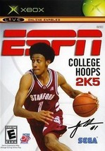 ESPN College Hoops 2K5 Xbox Great Condition Complete - $2.64