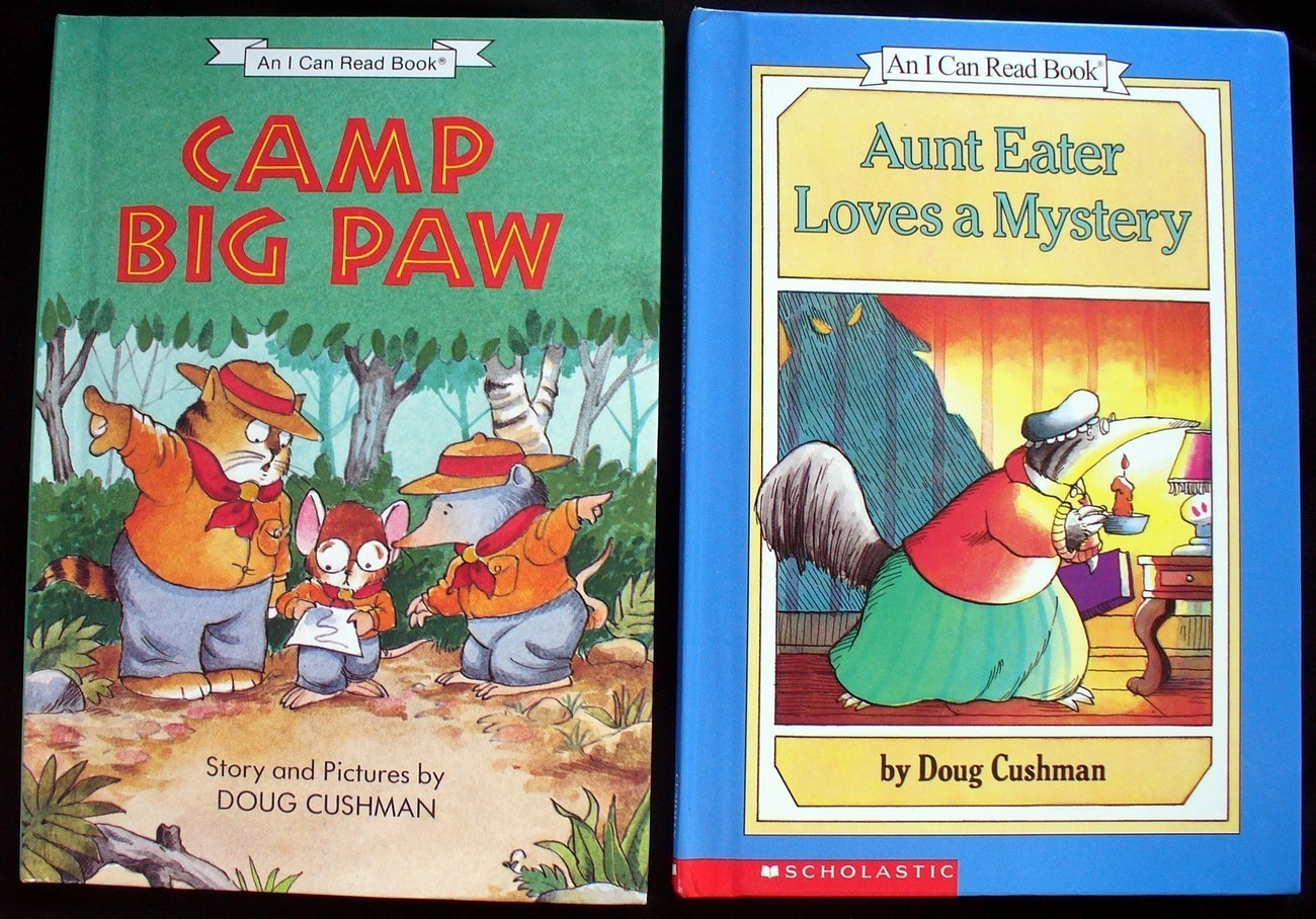 2 An I Can Read Aunt Eater Loves Mystery,Camp Big Paw Bonanza