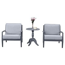 3 Piece Bistro Sofa Set by Island Gale| Outdoor Patio Dining Table Set f... - $548.79