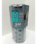 "Gaiam Restore Deep Tissue Foam Roller Grey 13"" - New - $28.70"