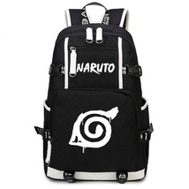 Naruto Theme Fighting Anime Series Backpack Schoolbag Daypack Bookbag Logo - $36.99