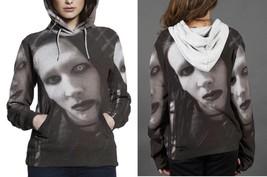 Marilyn Manson Funny Eyes Hoodie Women - $45.99+