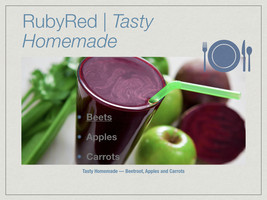 RubyRed Deliciousness All Day EnergyBoost, 4pk 16oz bottles. Buy2ShipsFree. - $19.95