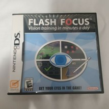 Flash Focus: Vision Training in Minutes a Day (Nintendo DS, 2007) complete - $1.99