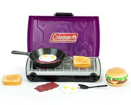 Doll Accessory Playset of Purple Coleman 18 Inch Doll Camping Stove %26a... - $31.52