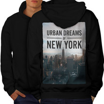 Dream Urban Photo New York Sweatshirt Hoody Urban Dreams Men Hoodie Back - $20.99+