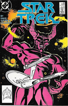 Classic Star Trek Comic Book #52, DC 1988, NEAR MINT NEW UNREAD - $4.99