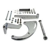 Chevrolet Small Block Long Water Pump Compressor Bracket 262 283 305 327 350 400 image 9
