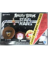 3 Early Angry Birds Star Wars Package New NIP gifts collectible toy gift... - $34.64