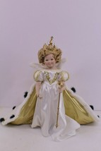 "1994 18"" Shirley Temple Porcelain Doll ""The Little Princess"" By Danbury Mint - $20.00"