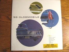 1963 Oldsmobile BIG Prestige Brochure, 98 88 Starfire F85 Jetfire, Xlnt! - $40.37