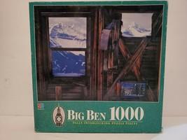Big Ben Three Windows San Miguel Mountains, Colorado 1000 Piece MB Jigsa... - $14.01