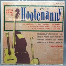 Vintage Let's Have A Hootenanny Vol III Folk Record Vinyl LP Album - £6.04 GBP
