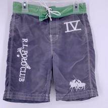 Polo Ralph Lauren Boys Swim Trunks RARE Double Pony R.L. Polo Club IV Size 6 - $29.65