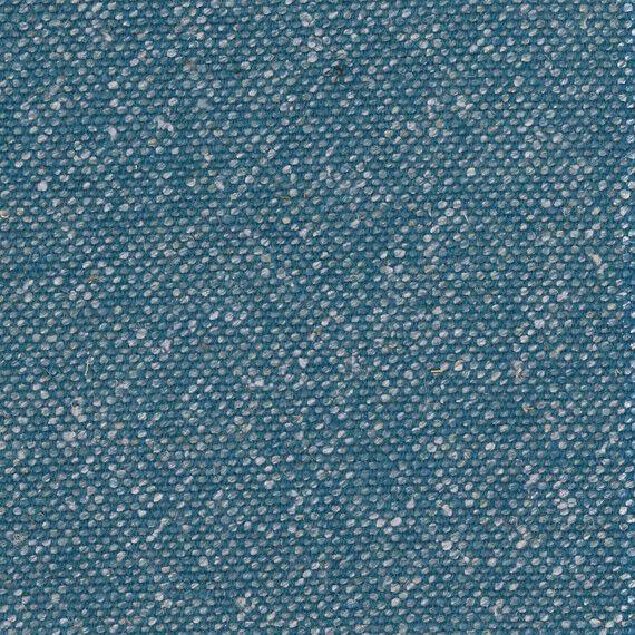 Camira Silk Pamir Blue Wool Flax Upholstery Fabric 1.125 yds SLK14 FC