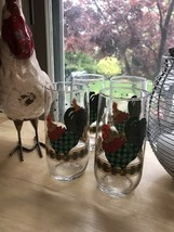 Vintage Anchor Hocking Rooster Tumblers - $15.84