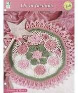 Crown of Roses Doily, House of White Birches Crochet Pattern Leaflet 109174 - $5.95
