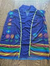 Palmera Mexican Multi Color Beach Cover Up Size CH = Small image 1
