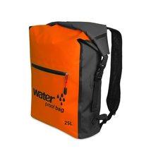 25L Waterproof Backpack, Outdoor Packable Bag / Dry Sack -  ORANGE - $26.95