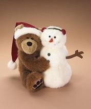 "Boyds Bears ""Bubba Santa w/Frostie""  #562959- 14"" Plush  - 2007 - NWT - $79.99"