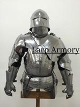 Half Gothic Armor 18 gauge steel renaissance medieval armor costume - $459.00