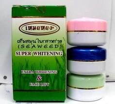 6 Meiyong Super Whitening Cream Seaweed Face lift natural Algae Reduce A... - $54.00